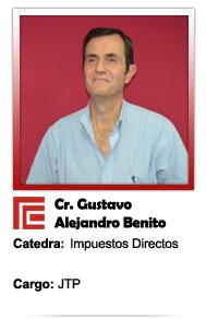 BENITO GUSTAVO ALEJANDRO