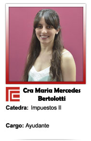 BERTOLOTTI MARIA MERCEDES