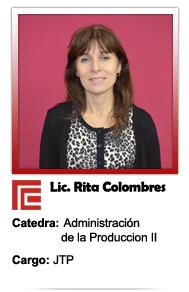 COLOMBRES RITA