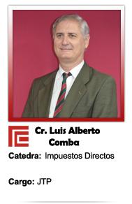COMBA LUIS ALBERTO