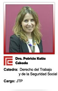 Cekada Patricia Katia