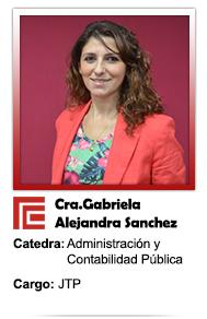 GABRIELA ALEJANDRA SANCHEZ