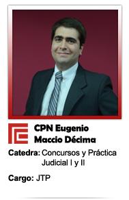 MACCIO DECIMA EUGENIO FACUNDO