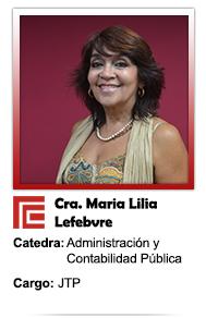 MARIA LILIA LEFEBVRE