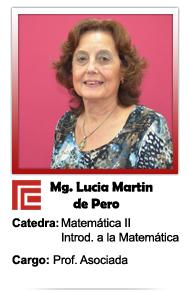 MARTIN DE PERO LUCIA