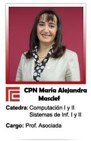 MASCLEF MARIA ALEJANDRA
