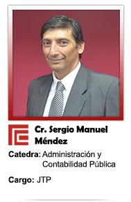 SERGIO MANUEL MENDEZ