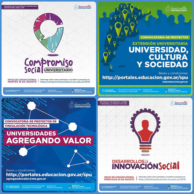 Convocatorias abiertas para proyectos de univeridades for Convocatorias para profesores 2016