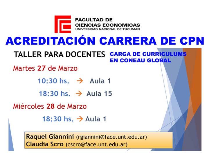 Facultad de Ciencias Económicas – Universidad Nacional de Tucumán ...
