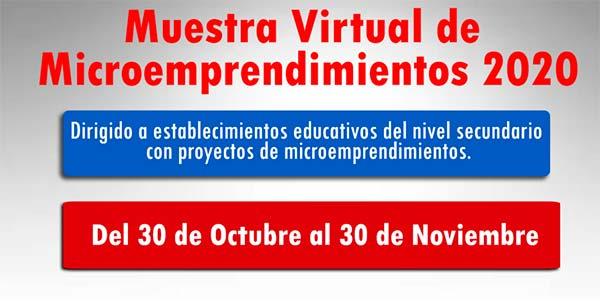 Microemprendimientos 2020
